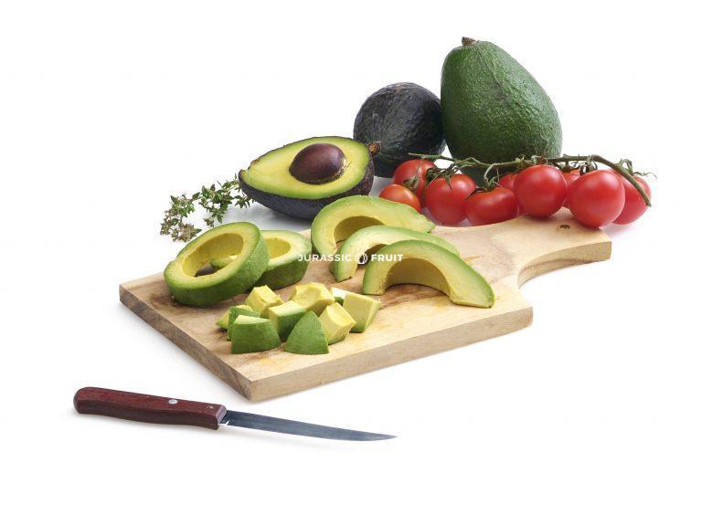 Manger Avocats Jurassic Fruit